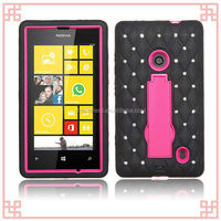 hot new products for 2014 luxury diamond bling hard case for nokia lumia 520