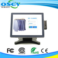 Complete line of touchscreen displays, flat panel LCD monitors POS equipment