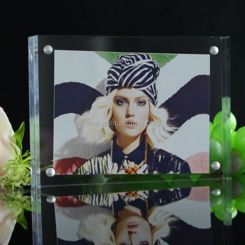 Acrylic Photo Frame, Acrylic Picture Frame, Acrylic Photo Block