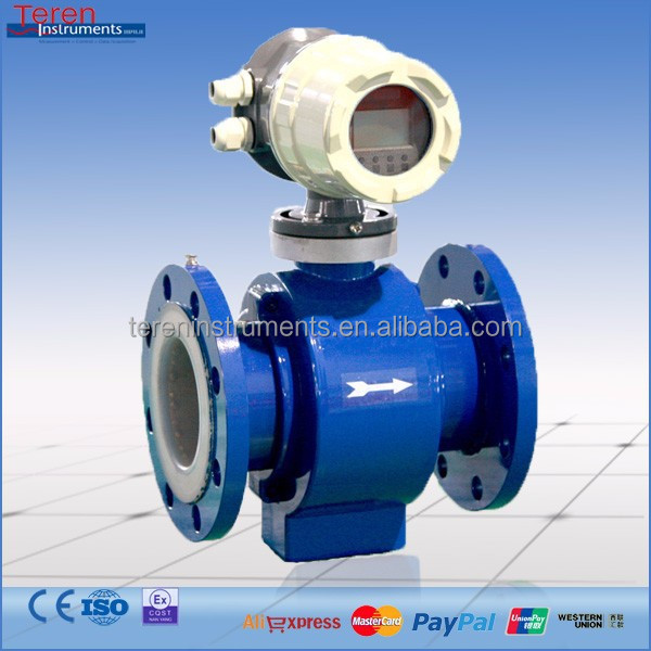 electromagnetic cheap sea water flow meter for paper making