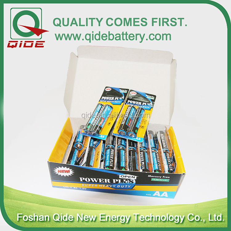 China wholesale super long self life primary R6P battery AA battery