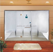 Luxury Acrylic steam shower room, shower cabin bathroom, spa steam
