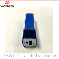 AK-011 China factory cheap usb power banks lipstick 2600mah business power bank for smartphones