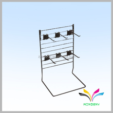 China supplier own factory shop adjustable metal earring stand with hooks