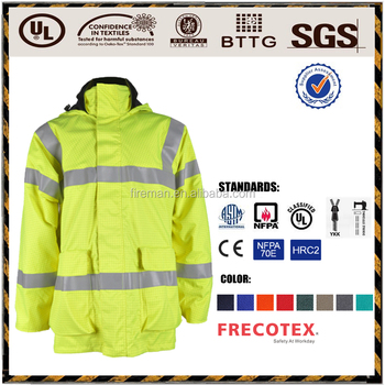 workwear jacket EN13034 Anti acid oil water proof acid resistant