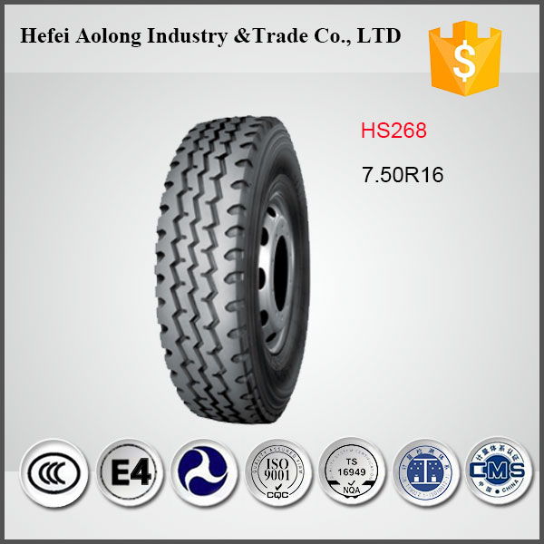 HS268 Radial Light Truck Tires 750-16 With Competitive Price