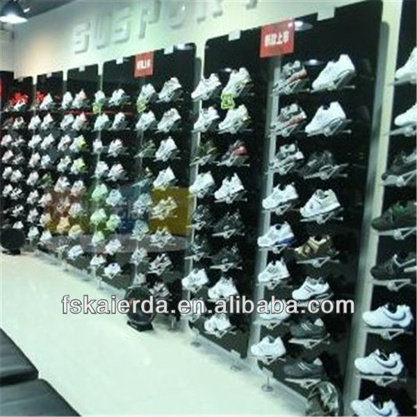 fashion sports shoe display rack shoe store stand