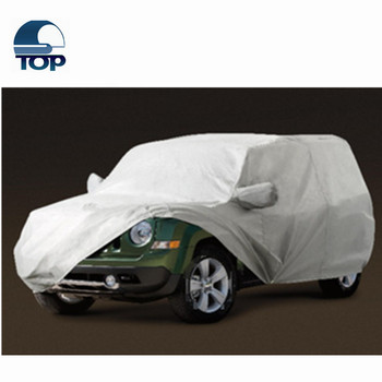automatic 2016 waterproof Polyester universal satin car shelters car accessories auto canvas car covers