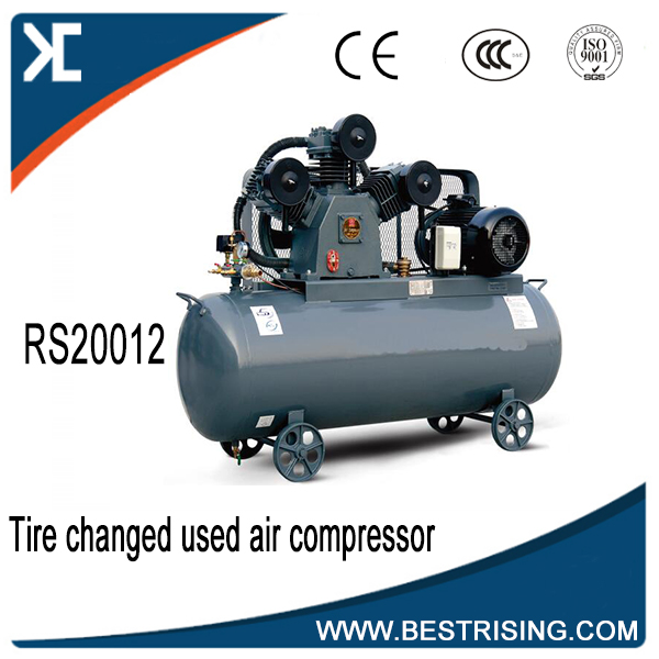 Tire changer used air compressor for garage