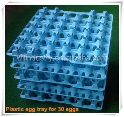 Newest designed plastic egg tray/plastic incubator egg tray for 30 eggs