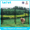 Heavy duty large outdoor metal dog run fence panels kennel for dog