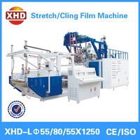 three layer 1000mm stretch film extrusion line