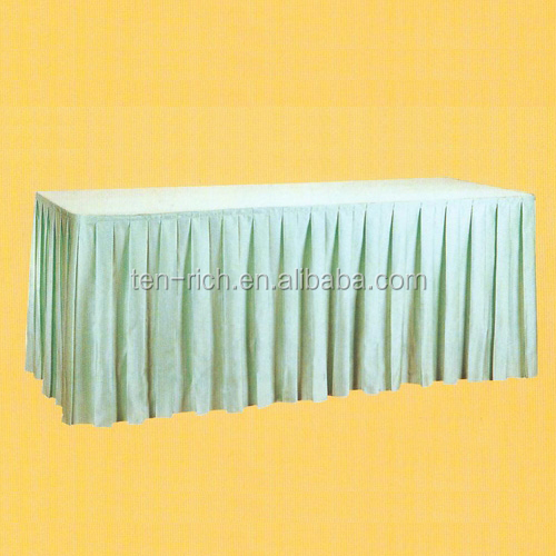 Different Designs of Table Skirting