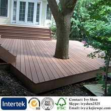 Patio Decking Floor,Outdoor Use Garden Decorative Board, Anti-Rot/UV Outdoor Decking/ WPC Floor