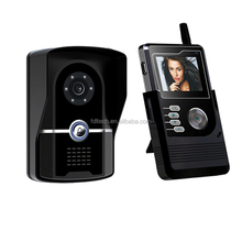2.4G color wireless interphones/wireless video door phones with IP65 waterproof