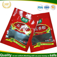 Hot sale aluminum foil bags for coffee beans food packaging heat seal