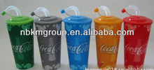 hot selling 3D lenticular straw cups for kids