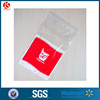 Custom resealable clear plastic PE plastic zipper bag with logo