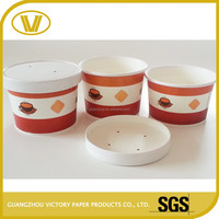 hot special size soup bowls and custom printed paper soup bowl with lid