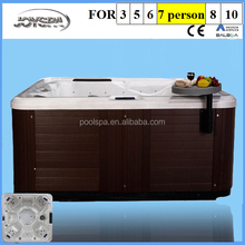 US aristech acrylic,Acrylic Material and Massage and swimming,Massage Function rectangular hot tub