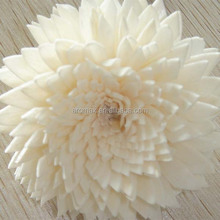 2014 wholesale rose shape natural wood sola flower diffuser