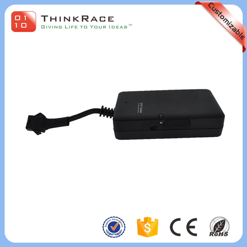 Support phone and 13 languages website tracking car google gps tracking device