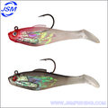 Wholesale cheap Soft Fishing Lures with Jig Head Hook ,fishing hook manufactory