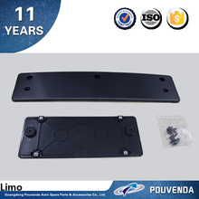 Front and Rear License Plate Frame for Volkswagen 11+ Toureg