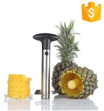 New design kitchen tool peelers & zesters FDA commercial electric automatic easy stainless steel pineapple peeler corer slicer