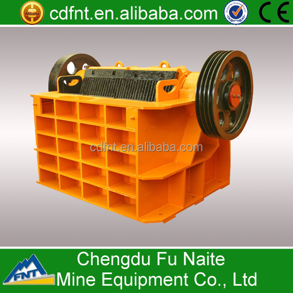 Industrial aggregate jaw crusher manufacturer of China