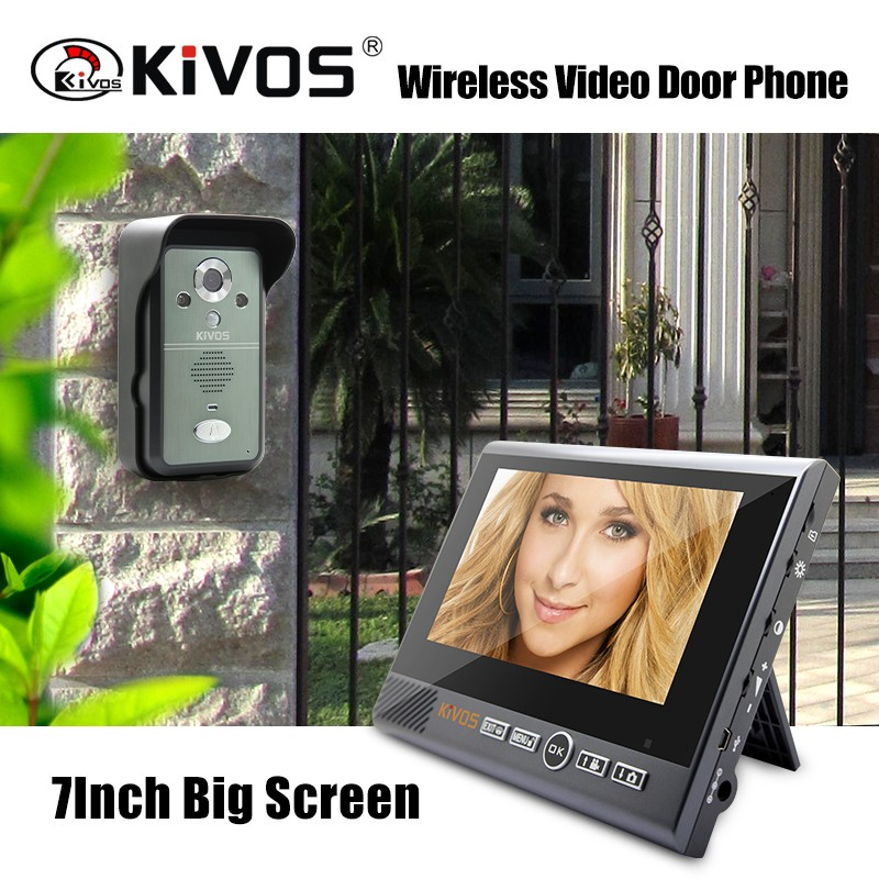 Wholesale sell wireless doorbell smart home automation systems kdb700 video door phone