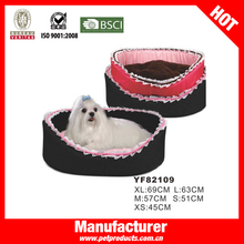 lucite acrylic pet dog bed