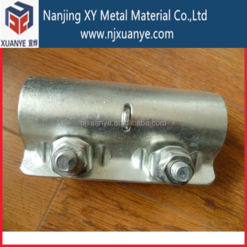 EN 74 Scaffolding External Joint couplers pressed scaffold sleeve coupler with SGS certificate