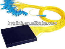 Factory producing optical fiber splitter with high quality fast delivery time for network