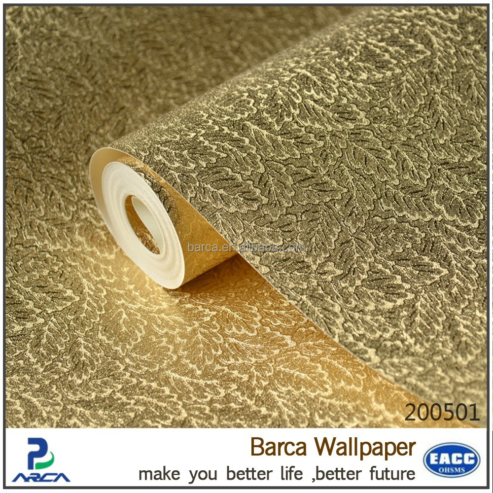 Modern 3d wall paper metallic foil wallpaper for sale for Designer wallpaper sale