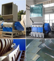 recycling plastic film grinder/ plastic film recycling machine
