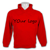 custom cotton or polyester thick fleece pullover hoodies