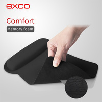 EXCO custom stock hot fellowes gel wrist rest and transparent wrist pad for mouse pad