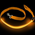 "1"" Width webbing tape both sides bright safety dog leash led"