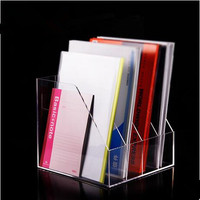 acrylic magazine/book display stand /holder