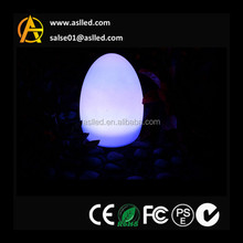 waterproof cute lighting led table lamp decoration flashing egg shape lamp