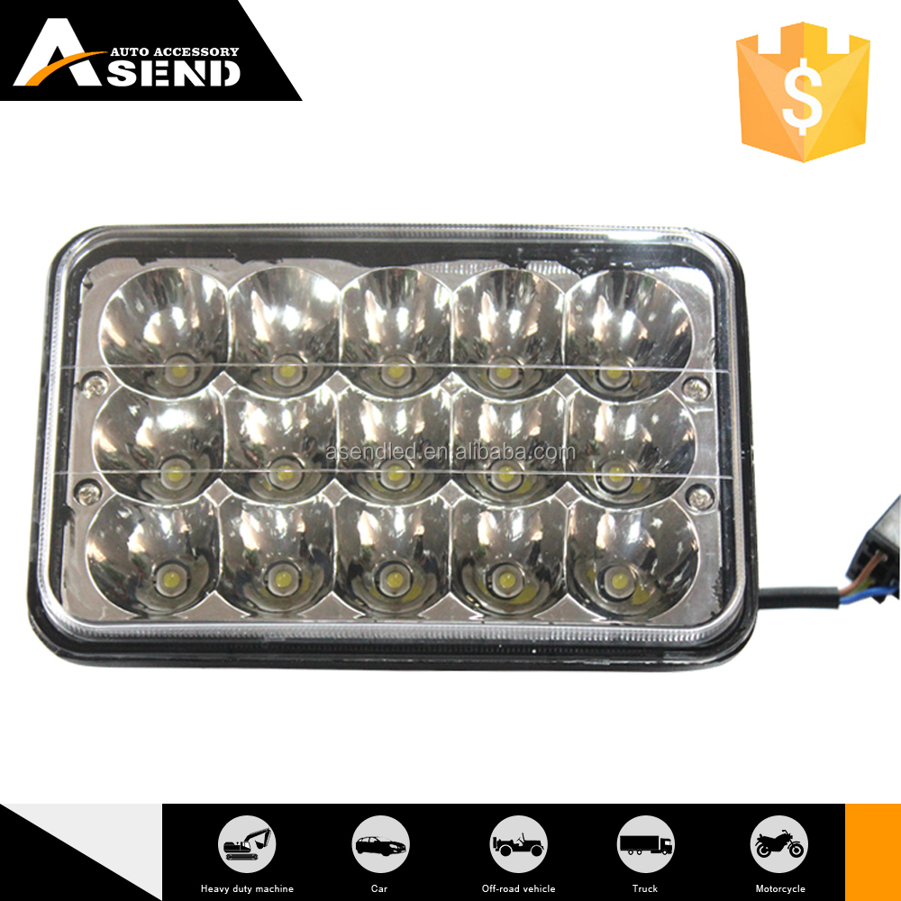 IP67 45w led work light for offroad/truck/vicle/lorry high/low beam headlight