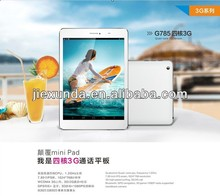 7.85 Inch Sanei G785 Quad Core 3G Phone Call Tablet PC 1GB RAM/16GB ROM Android 4.1 Built-in GPS Wifi Bluetooth