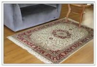 4x6 Ft High Quality Handmade Qum Rugs 100% Silk