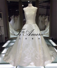 Dresses For Wedding Long Train Corset Cap Sleeve Bridal Gown Wedding Dress In Dubai