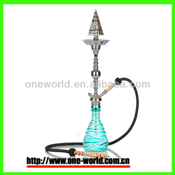 2014 newest disign world's first real premium electric nargile hookah pyramid hookah shisha