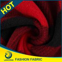 Famous Brand Garment use High Quality fleece fabric made in usa