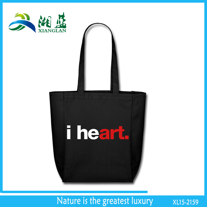 customized cotton bags for high school girls, fashion gilr tote bag, fabric shopping bag