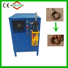 hot new products 2016 electric auytomatic motor recycling motor rotor wreck cutting machine