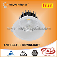 anti-glare led downlight 43W cob led light 8 inch recessed downlights led